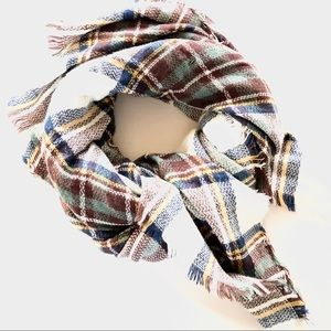 Accessories - 💥 Plaid Blanket Scarf